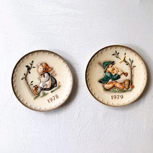 Hummel 1979 and 1978 Plates